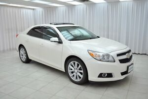 2013 Chevrolet Malibu LT2 SEDAN w/ BLUETOOTH, HEATED LEATHER, DU