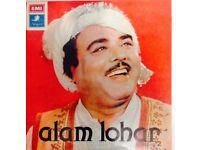 ALAM LOHAR RECORD COLLECTION SET/ LONG PLAY LP'S - Pakistani Music/ Punjabi Folk