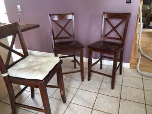 Chaises de comptoir