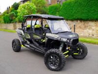 POLARIS RZR 1000 XP 4 2016 ROAD LEGAL BUGGY 4 SEATER FULLY LOADED SOUND SYSTEM ***07593390680***