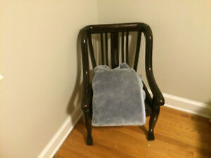 Solid Mid Century Chair