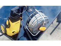 Karcher pressure washer and new hose lock hose