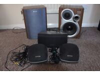 Hi-Fi Surround Sound Speakers Set.