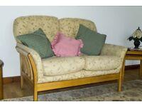 Cintique settee/armchair.