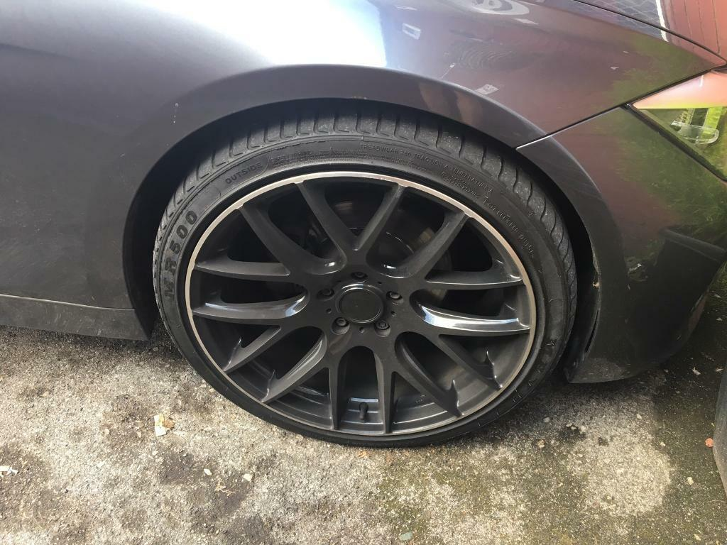 BMW Convertible bmw e90 20 inch wheels Bmw f30 20 inch alloys with tyres also fit insignia f10 e90 3 and ...