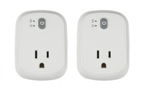 ===Unopened===Set of 2 smart plugs contral anywhere $30 (NEW)