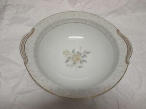"""A pair of Noritake China Japan 10-1/4"""" Round Vegetable Bowls"""