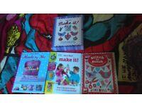 DK SET OF MAKE IT BOOKS CRAFT SEWING HOBBIES SET