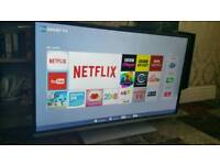 """Toshiba 48"""" full hd 3d led smart tv with freeview model no. 48l5453db"""