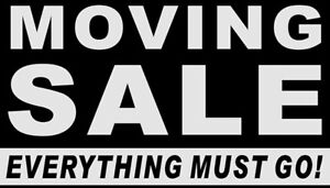 Moving Sale - The Big One!