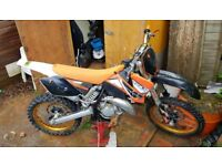 2004 KTM 125 SX