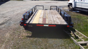Dual axle trailor