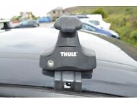 Thule 754 Foot Pack + M70 Fitting Kit + Compatible aluminium Roof Wing Bars