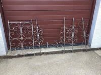 Wrought Iron Pieces