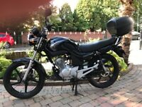2007 YAMAHA YBR125 -FULL MOT ONLY 744 MILES BIKE IS LIKE NEW MUST BE SEEN -FINANCE ETC £1199