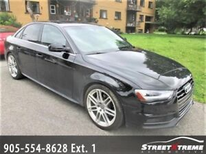 2013 Audi A4 Premium S-Line |Navi |Accident Free|Sunroof| AWD