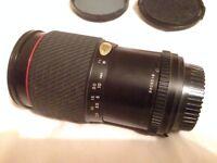 VGC Tokina SZ-X SD 28-105mm manual MACRO 62mm diameter lens. 1:4-5.3. M/MD mount(can get £8 adapter)