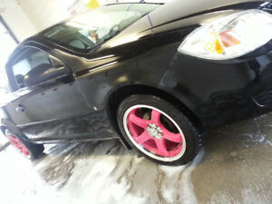 17 in pink rims