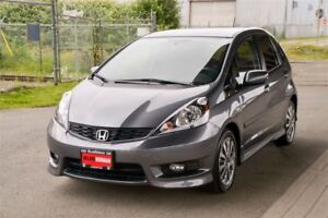 2013 Honda Fit Sport  Only 1300 Km WOW!!! Langley Loction
