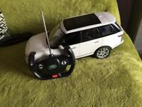 Land Rover battery remote control car