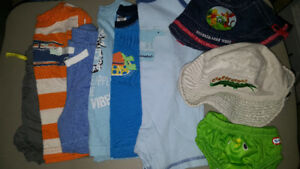 Small Lot of Summer Baby Boy Clothing 6-12 Months