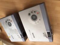 2 projectors