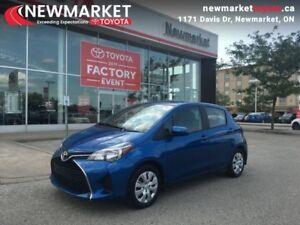 2015 Toyota Yaris LE  - trade-in - Certified - $44.91 /Week