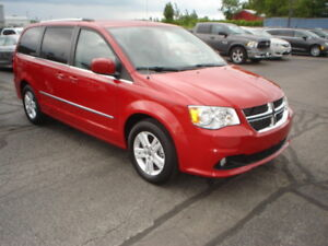 2013 Dodge Grand Caravan Crew Plus Minivan, Van