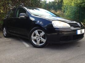 VW GOLF 1.9 TDI SPORTS, BLACK, TIMING BELT CHANGED, EXCELLENT CONDITION