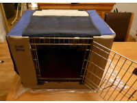 Croft Showman dog crate / accessories.