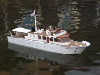 Radio Control Model Boat Layla Jane Motor Yacht