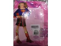 Super girl costume 5-7 years
