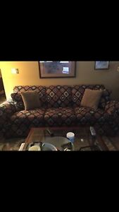 Couch and love seat -perfect condition