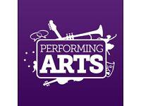 PERFORMING ARTS JOB OPPORTUNITIES
