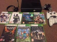 Xbox 360 and 7 games