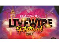 2 x LIVEWIRE FESTIVAL - WILL SMITH & DJ Jazzy Jeff - Headland Blackpool - Sunday 27 August 2017