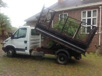 Iveco daily tipper diesel 2005 caged steel body drives good.