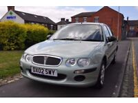 ROVER 25 1.4 16V IE 5DR PETROL ( FULL MOT HISTORY,1 OWNER,LOW MILES)