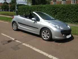 207 cc Convertible Automatic , silver , HPI Clear and SH - AVAILABLE END SEPT ONLY