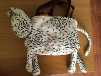 Joules cat padded handbag