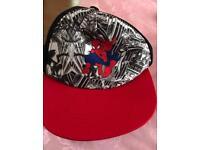 Spider man Hat and won-zee.