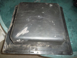 Black Roof Vent Cover