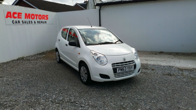 2013 63 SUZUKI ALTO 1.0 SZ 5 DR ,ONLY 52000 MILES WITH FULL SERVICE HISTORY