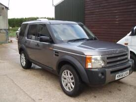Land Rover Discovery 3,2.7TDV6 XS,56 reg dec 2006.6 spd manual, 7 seater, f/s/h