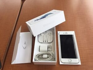 Unlocked iPhone 6s 16GB/ 10/10/ Silver & White