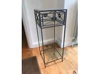 Stunning metal lamp hall table from Next - modern and sleek