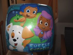 Bubble Guppies birthday supplies / decorations
