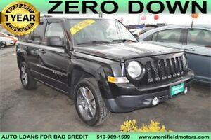 2014 Jeep Patriot Sport North 4WD - LOW PAYMENTS OF $48 a week