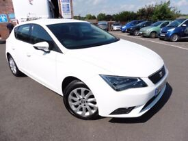 SEAT Leon TSI SE TECHNOLOGY (white) 2014