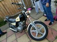 Lexmoto Vixen 125 black creme very good condition nice running riding bike full mot on Monday 13 plt